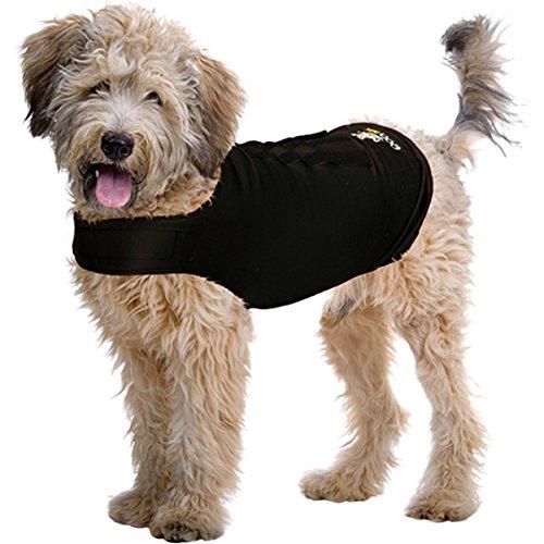 ZenPet Camiseta de Perro Envolvente para la ansiedad Manera Libre de Drogas de calmar la ansiedad de los Perros. Camiseta de compresión calmante.