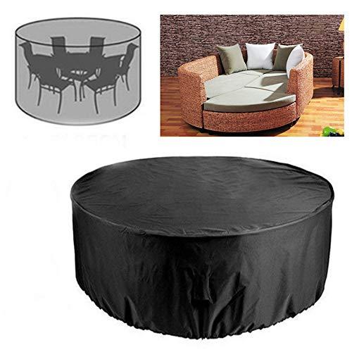 ZHENWOFC 73x38 Zoll Runde Outdoor Garten Hof Patio Tisch Stuhl Möbel Wasserdichte Abdeckung Hardware-Ersatzteile -