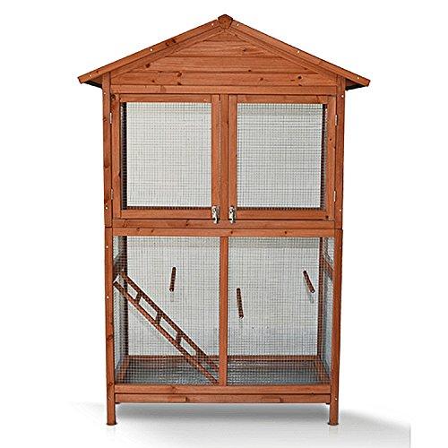 Zooprimus Hühnerstall 020 Vogelvoliere - VOGELVOLIERE-XL - Voliere für Außenbereich