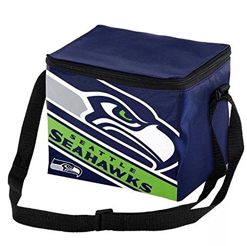 Forever Collectibles Seattle Seahawks Big Logo gestreift 12Stück Kühler