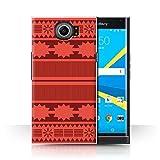 Stuff4® Hülle/Case für BlackBerry Priv/Aztek/Prinzessin Kleid Muster/Karikatur Polynesische Prinzessin Kollektion