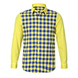 Herren Oberteile,TWBB Autumn Winter Gitter CardiganShirt Sweatshirt Casual Tops Lange Ärmel Männer V-Neck Hemd