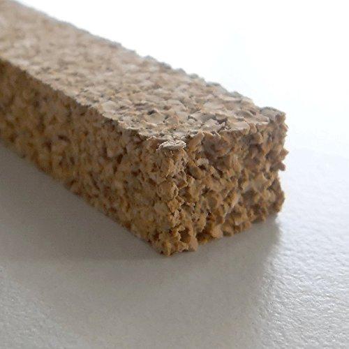 Korkstreifen natur 10 x 14 x 900 mm // für Modelbau, Dehnungsfugen, Basteln uvm. (25 Stk.)