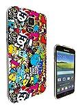 589 - StickerBomb Sticker Bomb Cool Funky Design Samsung