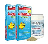 Algenkiller, Teichalgen, Fadenalgen, Teichpflege, Teichpflege-Produkte, Algenmittel, Wasserpflege, grünes Wasser, Teichpflege-Mittel