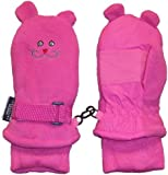 N'Ice Caps Girls Thinsulate and Waterproof Kitty Face Mitten