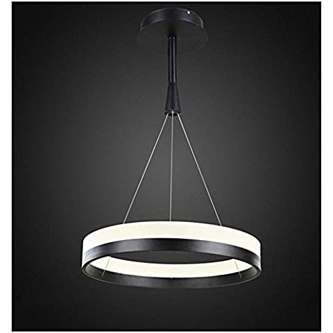 BJVB LED lámparas de acrílico lámparas Simple moderno restaurante dormitorio luces estudio obras iluminación lámparas LED interior lámparas alambre colgar alambre . single loop 60cm