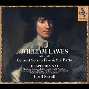 W Lawes: Consort Sets in Five & Six Parts /Hesperion XXI * Savall