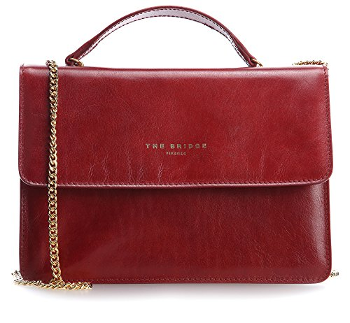 The Bridge Candy Tracolla Borsa a mano pelle 26 cm rot, rot