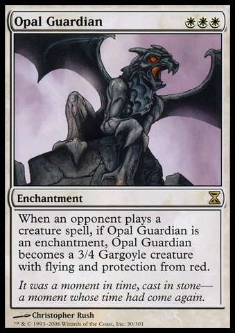 Magic the Gathering - Opal Guardian - Guardiano d'Opale - Time Spiral Opale Spiral