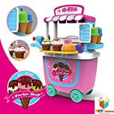 #6: Toys Bhoomi Fascinating Pushcart Super-fun Trolley Ice Cream Parlor Shop - 31 Pieces