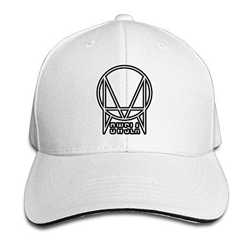 03789c33f93 BAO Owsla cappello da baseball con logo - bianco - Taglia unica