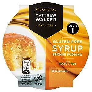 Matthew Walker Gluten Free Syrup Sponge Pudding, 110g