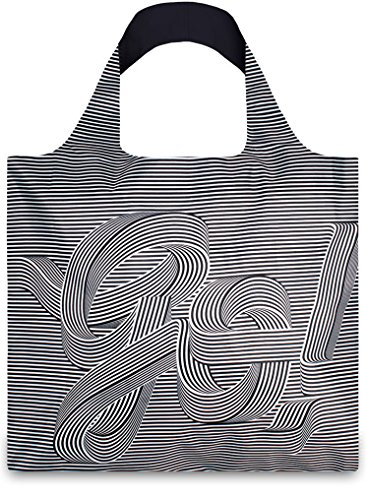 TYPE Go Go Go Bag © Sagmeister & Walsh: Gewicht 55 g, Größe 50 x 42 cm, Zip-Etui 11 x 11.5 cm, handle 27 cm, water resistant, made of polyester, OEKO-TEX certified, can carry up to 20 kg GO