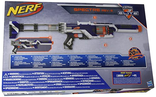 Nerf N-Strike Elite Spectre REV-5 Blaster [UK Import] - 2