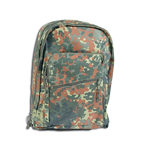 Rucksack Daypack flecktarn