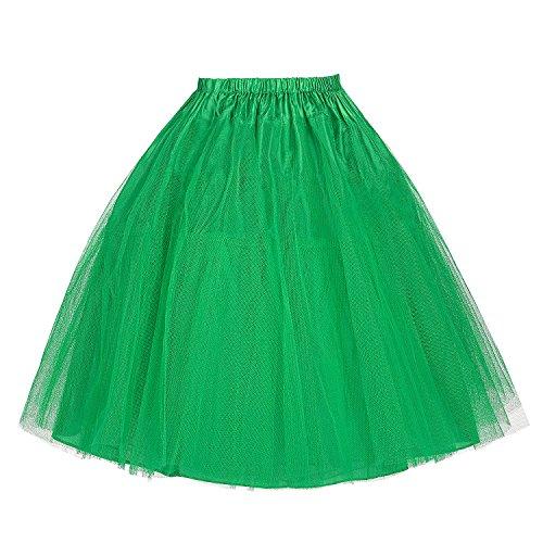 Belle Poque Damen Petticoat Unterrock für wedding kleid abendkleider brautkleid XL BP056-7