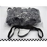 Progom - Gomas Elasticas - 400(ø255)mm x 22mm - negro - bolsa de 1kg
