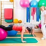 EXTREM DICKE Fitnessmatte (2cm!) »Jivan« / dick und weich, ideal für Pilates, Gymnastik und Yoga, Maße: 183 x 61 x 2,0cm / In vielen Farben erhältlich. Perfekt für empfindliche Personen – sehr weich – auch zum Balance-Training verwendbar - 6