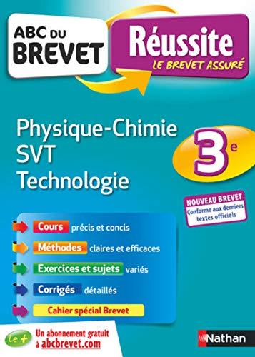 ABC Réussite Brevet - Physique Chimie/SVT/Techno - 3e - Nouveau Brevet par Nicolas Coppens
