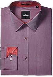 Park Avenue Mens Formal Shirt (8907254197710_PMSX08686-F5_39_Medium Fawn)