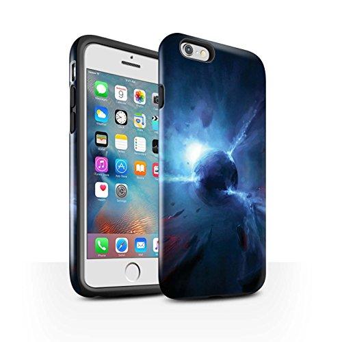 Offiziell Chris Cold Hülle / Glanz Harten Stoßfest Case für Apple iPhone 6+/Plus 5.5 / Entfernten Stern Muster / Galaktische Welt Kollektion Pulsar/Neutron Stern