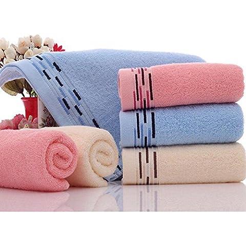 Basion asciugamani in cotone three-packs, morbido e assorbente asciugamani a