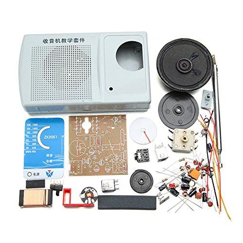 Bluelover Diy Zx2051 Tipo Ic Fm Am Kit De Radio Electroinc Learning Kit (precio: 10,19€)