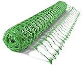UvV ES-Team Warnnetz grün Schutznetz Fangnetz Auffangnetz Fangzaun Bauzaun Wildzaun 50 m