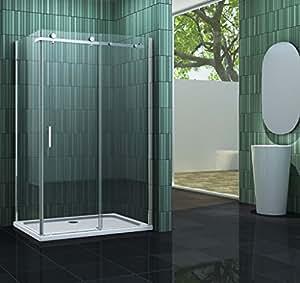 cabine de douche techno 140 x 90 x 200 cm bac inclus bricolage. Black Bedroom Furniture Sets. Home Design Ideas