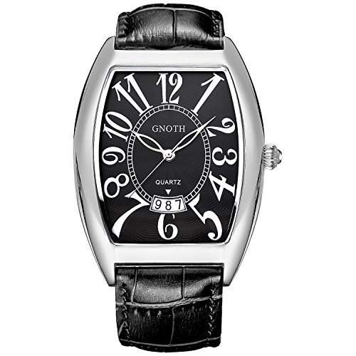 gnoth-mens-black-leather-rectangular-wristwatch-with-large-numbers-date-face