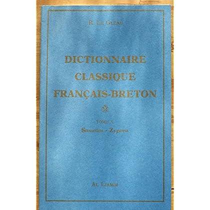 Dictionnaire classique Français-Breton, volume 10