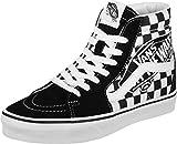 Vans Sk8 Hi Schuhe Patch Black/True White