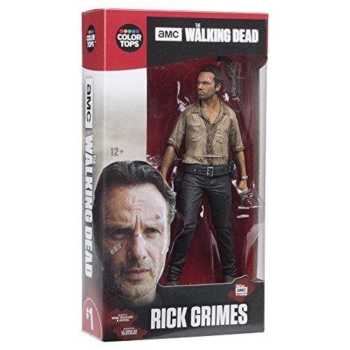 Walking-Dead-TV-Rick-Grimes-7-372643-cm-colore-top-rosso-Action-figure