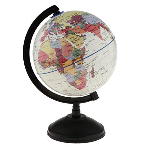 Blesiya Rotación del Globo Terráqueo del Mundo Mapa del Océano Niños Niños Juguetes Educativos 14 Cm - Blanco, #1