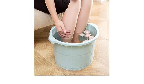 Mai@ Bain De Pieds Massage Bain De Pieds Baril Intensifier Bain De Pieds En Hiver Bain De Pieds En Plastique Massage Bain De Pieds Bain De Pieds Bain De Pieds Peut /Être Utilis/é Avec Du Sel De Bain Et Des P/étales Dhuiles Essentielles 30