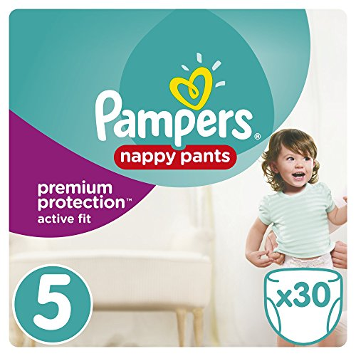 Pampers Premium Active Fit Pants Taille 5 11-18 kg - 30 Couches-Culottes