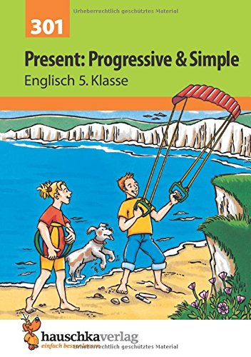 present-progressive-simple-englisch-5-klasse