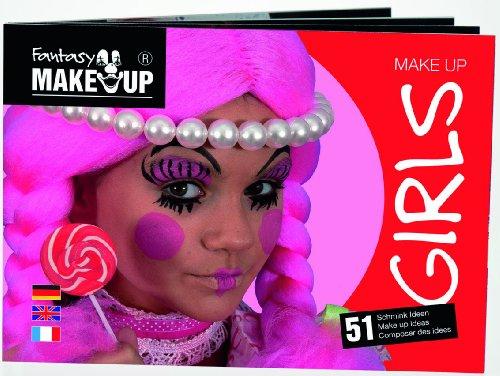 Schminkheft, Schminkanleitungen, Fasching Schminkbuch, Kinderschminken, Schminkbuch Mädchen (Mädchen Ideen Für Halloween Kostüme)