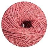 Linie 399 Livana Schurwolle und Alpakawolle Farbe 107 rot