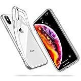 ESR Coque iPhone XS Max, iPhone XS Max Coque Transparente Gel Silicone TPU Souple, Bumper Housse Etui de Protection Premium pour iPhone XS Max 2018 6,5 Pouces (Série Jelly, Transparent)