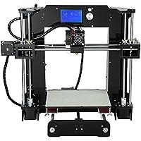 Impresora 3D, kit de impresora 3D ANET A6 con pantalla LCD (admite tarjetas TF
