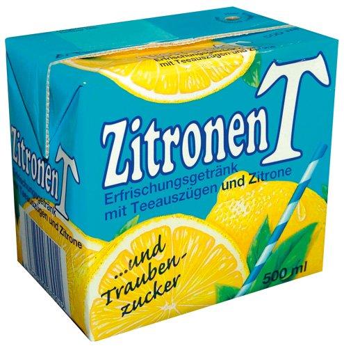 Eistee Eistee Zitrone, 12er Pack (12 x 500 ml) (Gerste Tee)
