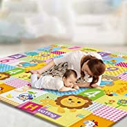 Baby Play Mat Playmat Blanket, Waterproof Non-Slip Crawling Mat and Up 200 * 180cm Baby Playmats The Indoor Ca