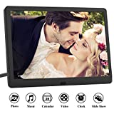 Digital Picture Frame 10 Inch (16:9) IPS 1920 * 1080 resolution display, Free