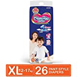 MamyPoko Pants Extra Absorb Diapers, Extra Large (Pack of 26)