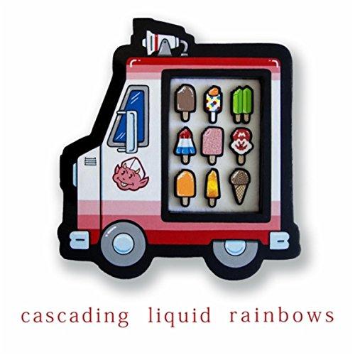 Cascading Rock (Cascading Liquid Rainbows)
