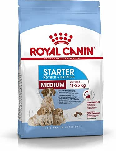 Royal Canin : Croquettes Chiot Size Health Starter Mother & Babydog Medium : 4kg