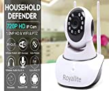 #2: Royallite Wireless HD IP Wifi Camera CCTV Indoor Security CCTV Camera Video Monitor (Inbuilt Mic)