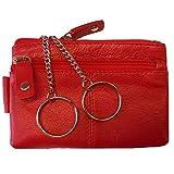 Schlüsseletui, BIG KEY, Damen und Herren Schlüsseletui, Leder, rot